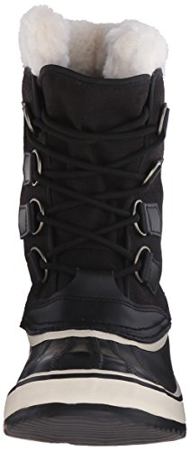 Sorel - Stivali da neve senza rivestimento interno, Donna Nero (Black, Stone/011)