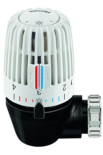 TA Heimeier 7300-00.500 Thermostat-Kopf WK mit eingebautem Fühler und 2 Sparclips - Heimeier Thermostat