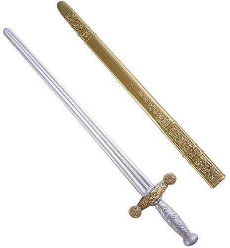 Imagen 5 de Caballero Espada withScabbard 75cm Espadas Novedad juguete Armas y armadura para Disfraces accesorios