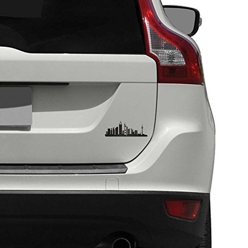 Preisvergleich Produktbild Frankfurt City Skyline Sticker Aufkleber fur Auto / Fahrzeug / Wagen