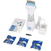 Drgger Peigne à poux - Peigne électrique électronique Contre Les puces pour Le Traitement des puces Chiots, UE 220 V