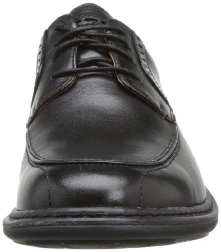 Clarks Un Rage, Chaussures à lacets homme Noir (Black Leather)