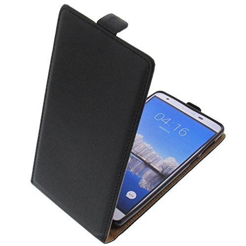 foto-kontor Tasche für Cubot H2 Smartphone Flipstyle Schutz Hülle schwarz