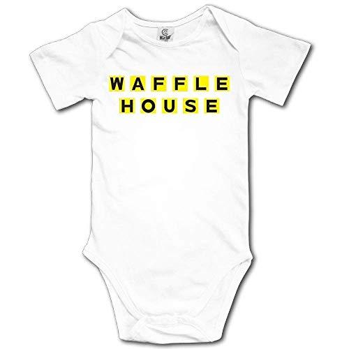 Kinder Jungen Mädchen Shirts Waffel House Bodysuits T Shirt Kurzarm T-Shirt Für Kleinkind Jungen Mädchen Sommer 18 Monate -