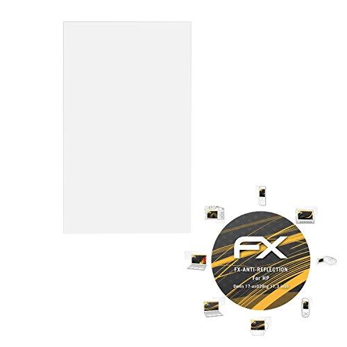 atFolix Panzerfolie kompatibel mit HP Omen 17-an039ng 17,3 inch Schutzfolie, entspiegelnde & stoßdämpfende FX Folie (2X)