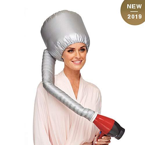 trockenhaube für haare, GUHEE Sicherheits Haartrockenhaube, Portable Föhnhaube Attachment für Haartrockner - Soft Bonnet Hair Dryer