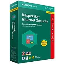 Kaspersky Internet Security 2018 Mise à jour | 1 Poste | 1 An |  PC/Mac/Android/iOS | Téléchargement
