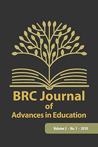 BRC Journal of Advances in Education, Volume 3 Number 1
