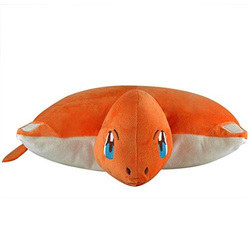 Katara 1750 Fodera Cuscini Morbida Peluche Pokemon - Idea Regalo per Bambini e Appassionati di Pokemon - Disponibile in Vari Modelli - Charmander