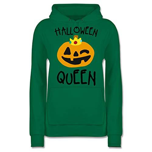 Shirtracer Halloween - Halloween Queen Kostüm - S - Grün - JH001F - Damen ()