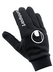 Uhlsport Men's Field Player Gloves-100096701 Field Player Gloves, black, 9 (L)