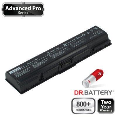 Dr. Battery Advanced Pro Series Batterie d'ordinateur Portable de Remplacement pour Toshiba Satellite Pro L500-1T2 (4400mah / 48wh) 800+ cycles de recharge. Garantie 2 an