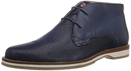 NOBRAND Blackthorn Herren Chukka Boots Blau (Navy)