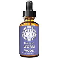 Pets Purest Desparasitante antiparasitario 100% natural para perros, gatos, aves, pájaros,