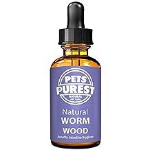 Pets Purest 100% natürliches Anti-Parasit Wurmkuren für Hunde, Katzen, Geflügel, Vögel, Kaninchen u. Haustiere. Wirksam gegen alle Würmer, Spulwurm, Hakenwurm, Whipworm & Bandwurm. 1-2 Jahre Vorrat