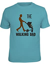 Original RAHMENLOS® T-Shirt für den frischgebackenen Vater: The walking Dad