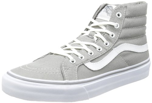 Vans U SK8-HI SLIM FROST GREY/TRUE VQG38ZU, Unisex-Erwachsene Sneaker, Grau (frost grey/true white), EU 36 (US 4.5)