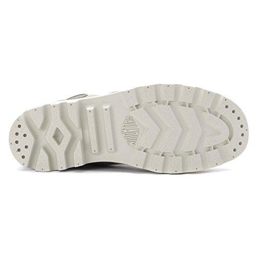 Palladium 92352-101-M, Scarpe sportive donna Concrete/Silver Birch