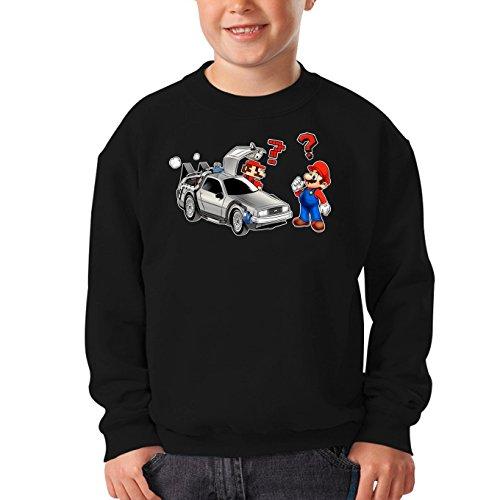 Sudadera Videojuego - Parodia de Super Mario Bros y Mario 3D (800)