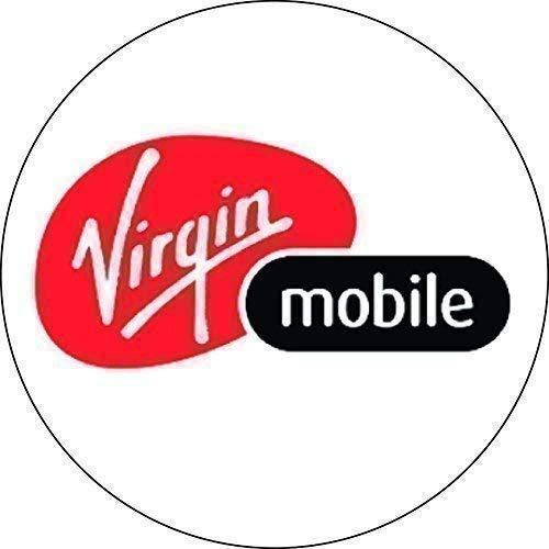 200 Handy Netzwerk Sticker (10 Zur Auswahl - Orange, 13mm - Virgin Mobile (200 Stickers) (Mobile Handys Von Virgin)