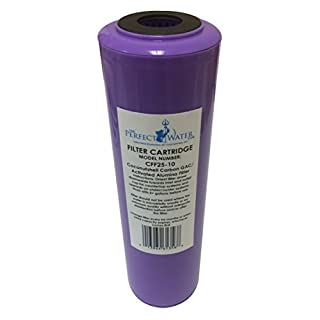 Home Master CFF25-10 Jr F2 Replacement Water Filter, Activated Alumina/GAC Fluoride Filter, Purple by Home Master