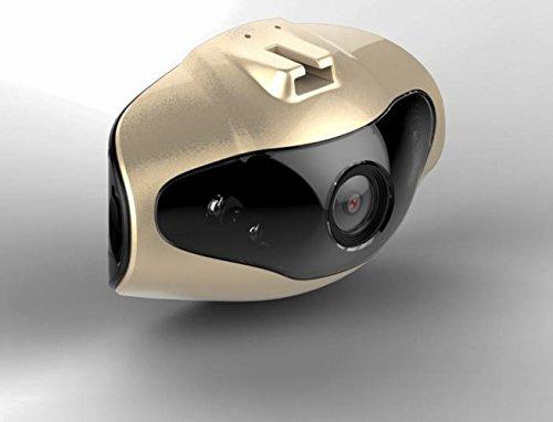 CHENSH 5 Millionen Pixel High-Definition-Fahren Recorder 1080p Mini-Kamera 140 ° Weitwinkel Mit Super-Nachtsichtparken Überwachung Zyklus Schwerkraft-Sensor,Gold-RecorderWithMemoryCard16G (Wlan-zyklus)