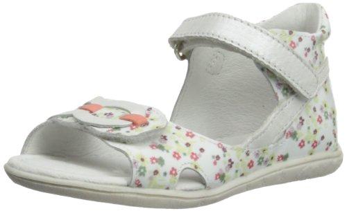 Babybotte  Tahitia, sandales fille Blanc