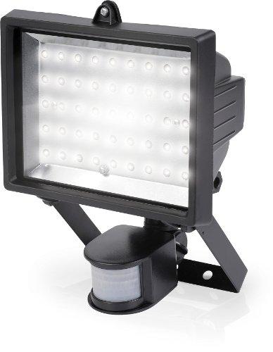 LED Flutlichtlampe mit Bewegungsmelder 45 LED, 3 Watt - POWLI211