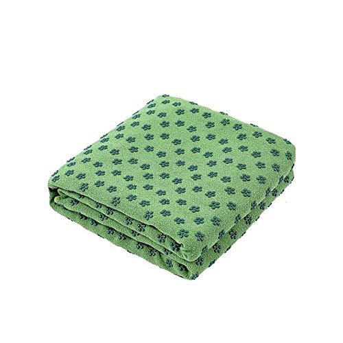 Beito Yoga-Decke PVC Rutschfeste Yoga-Handtücher Schweiß absorbieren schnell trockene Fitnessmatte mit hoher Dichte Yoga-Matte