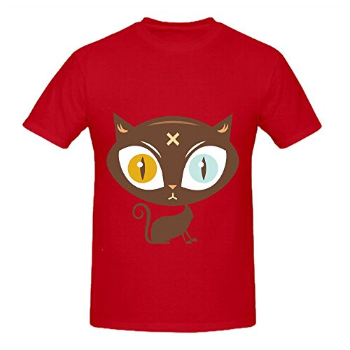 the-cat-did-it-mens-crew-neck-art-t-shirt-red