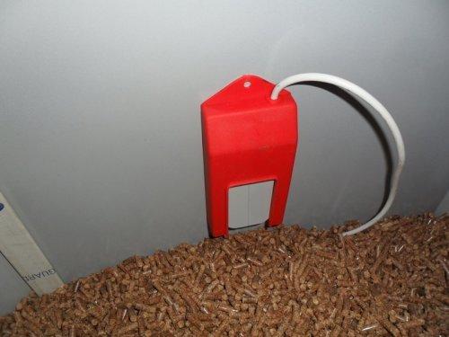 Pelltech Pellet remplissage Interrupteur Capteur, niveau de remplissage