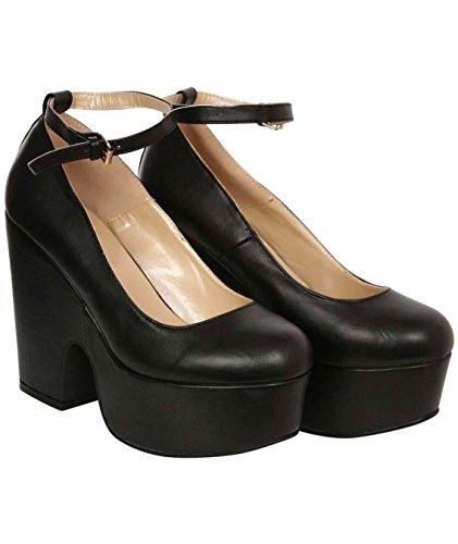 PILOT® rubis demi de coin bride à la cheville chaussures Noir