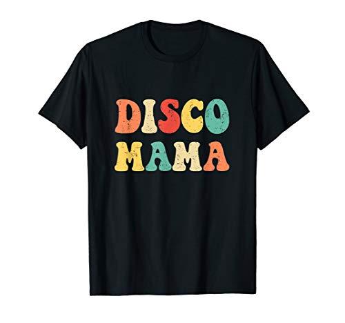 Disco Mama T-Shirt 1970er Jahre Disco Queen (Disco Kostüm Mama)