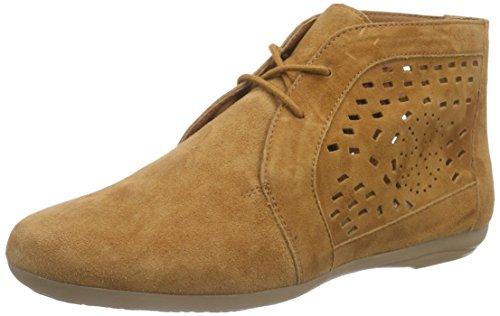 Marc Shoes - Janine, Stivali Desert a mezza gamba, senza imbottitura Donna Marrone (Braun (setter 373))