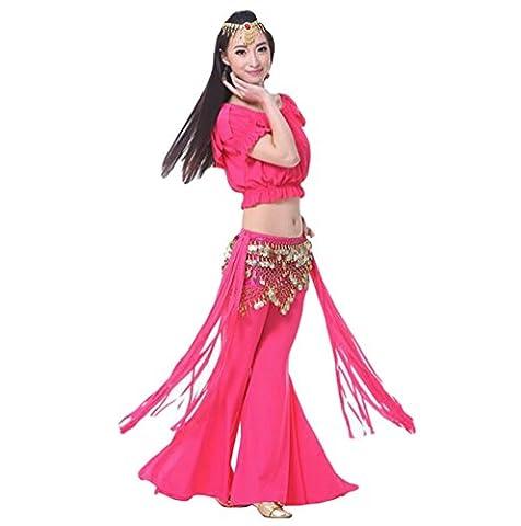 Costumes De Danse Vêtements - ZhiYuanAN Femmes 3Pcs Vêtements Danse Du Ventre