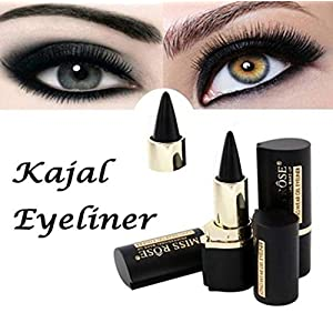 DIVISTAR Wateroroof Smoky Eyes Eyeliner Eyes Lápiz Gel Eye Liner Stickers Grueso Black Bold Eyes Liner Gel Lápiz…