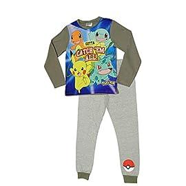 Jim Jams Pokemon Boys Pyjamas Pjs Ages 5 to 12 Years