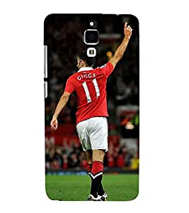 Takkloo Sportsman footballer,player playing football, Sport for everyone, A famous sportsman, amazing picture of a footballer) Printed Designer Back Case Cover for Xiaomi Redmi Mi 4 :: Redmi Mi 4
