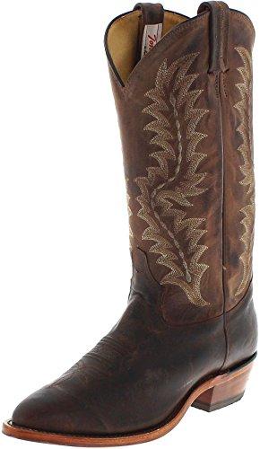 Tony Lama 6978 EE Chocolate/Herren Westernreitstiefel Braun/Herrenstiefel/Reitstiefel/Western Riding Boots, Groesse:40.5 (7.5 US) (Tony-lama-stiefeln)