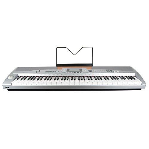 Axus Digital AXS2 compact Digital Piano mit 88 Tasten, silber