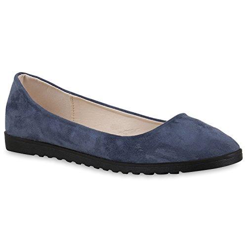 Mocassins Deslizador De Senhora Pintar Sapatos Metálicos Flats Perfil Único Azul Escuro