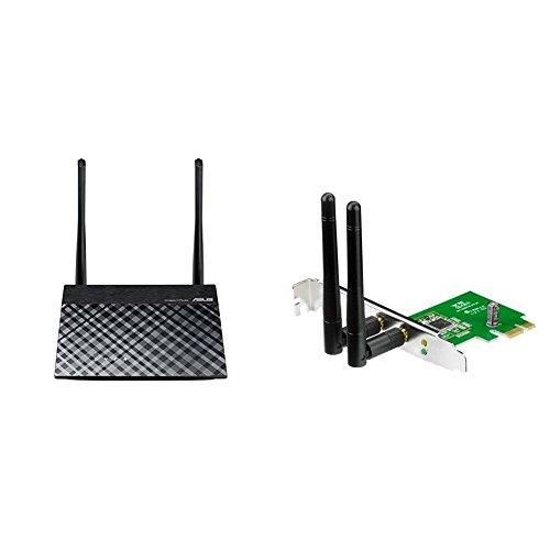 RT-N12E Router + passende PCE-N15 WLAN-Karte