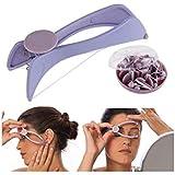 Harikrishnavilla Women's Eyebrow Face and Body Hair Threading and Removal System (Multicolour, Medium)