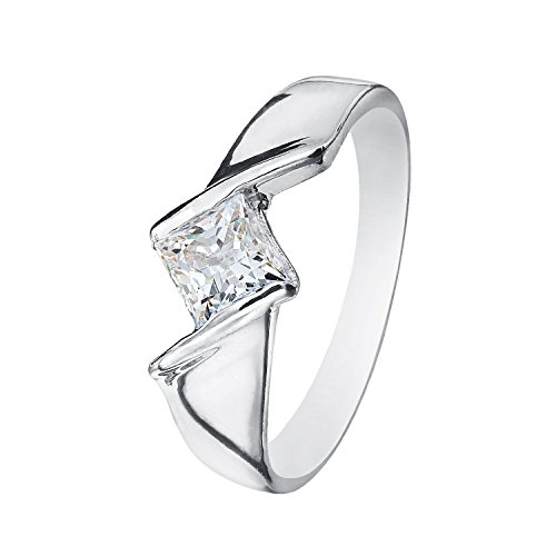 Men's Square Box Ring with Cubic Zirconia Stone by Piya FRGS11000094_18