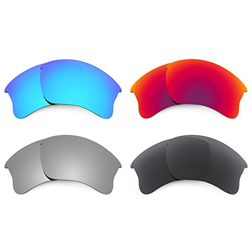 Revant Ersatzlinsen für Oakley Flak Jacket XLJ Polarisiert 4 Paar Kombipack K019