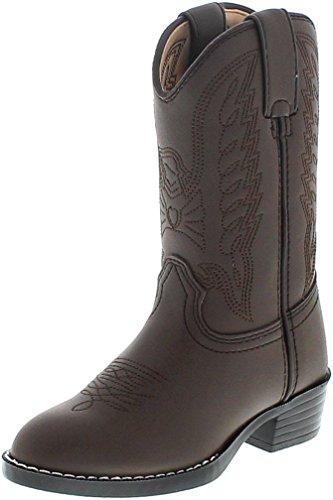 Mädchen Cowboy Stiefel Durango (FB Fashion Boots Durango Boots Lil´ Durango BT804 BT904 Brown/Kinder Westernstiefel Braun/Kinderstiefel/Mädchenstiefel/Jungenstiefel, Groesse:25 (8.5 US))