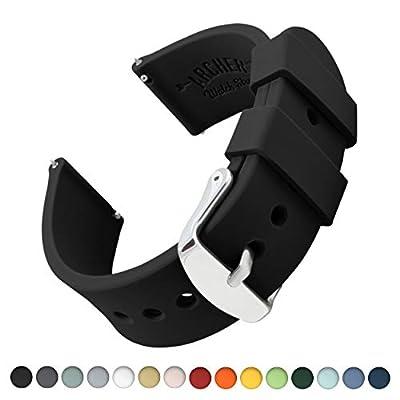 Archer Watch Straps | Repuesto de Correa Reloj de Silicona para Hombre y Mujer, Caucho Fácil de Abrochar para Relojes y Smartwatch | Varios Colores, 18mm, 20mm, 22mm