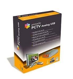Pinnacle PCTV Analog USB carte tuner externe USB pour réception TV analogique