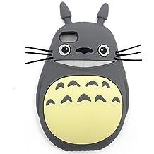 GIANCOMICS® iPhone Funda Carcasas para Protección Gota y Choque Absorción Totoro Protector de Pantalla para iPhone 6 iPhone 6S