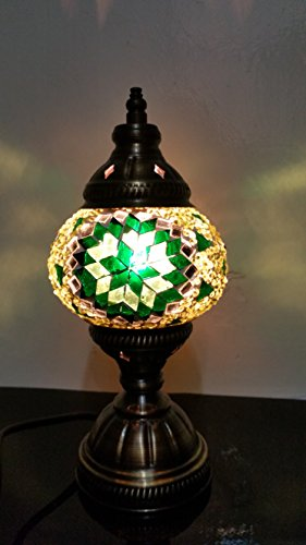 CHRISTMAS GIFTS- AMAZING Turkish & Moroccan Style Mosaic Table Lamps